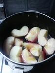 02/03りんごの赤ワイン煮2